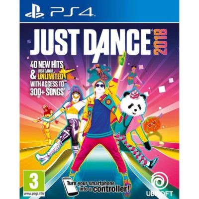 Just Dance 2018 Reg 3