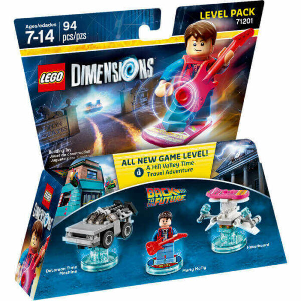 Lego Dimensions Back to the Future Level Pack