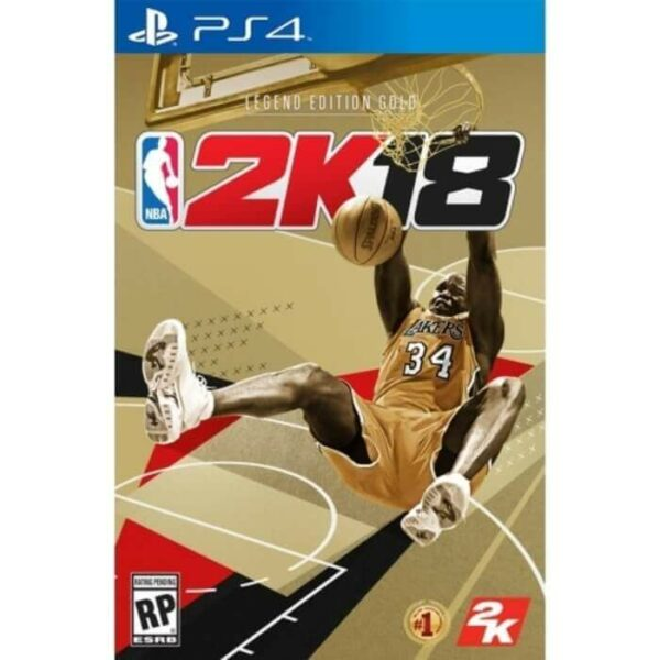 NBA 2K18 Legend Edition Gold Reg 3