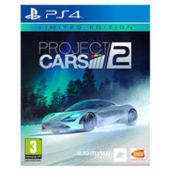 Project Cars 2 Limited Edition Reg 3