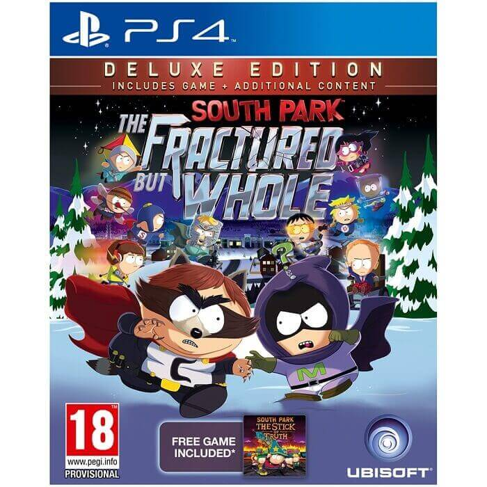South Park The Fractured But Whole Deluxe Edition Reg 2
