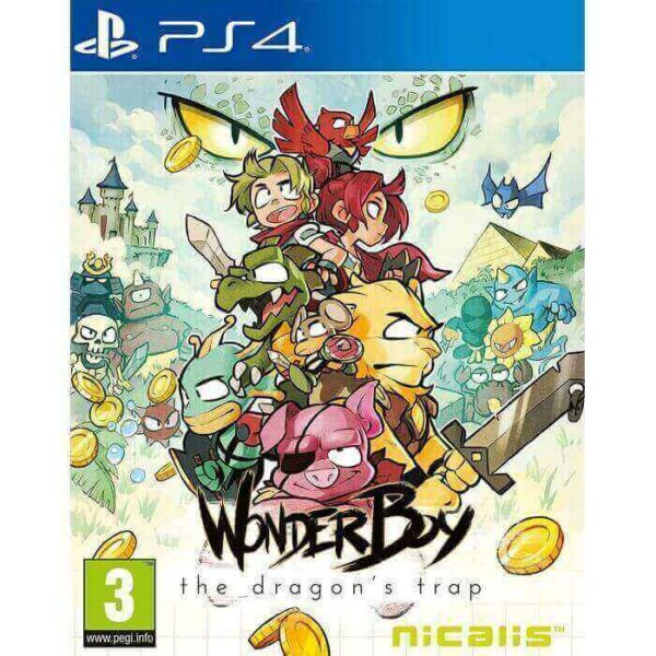 Wonder Boy The Dragons Trap Reg 3