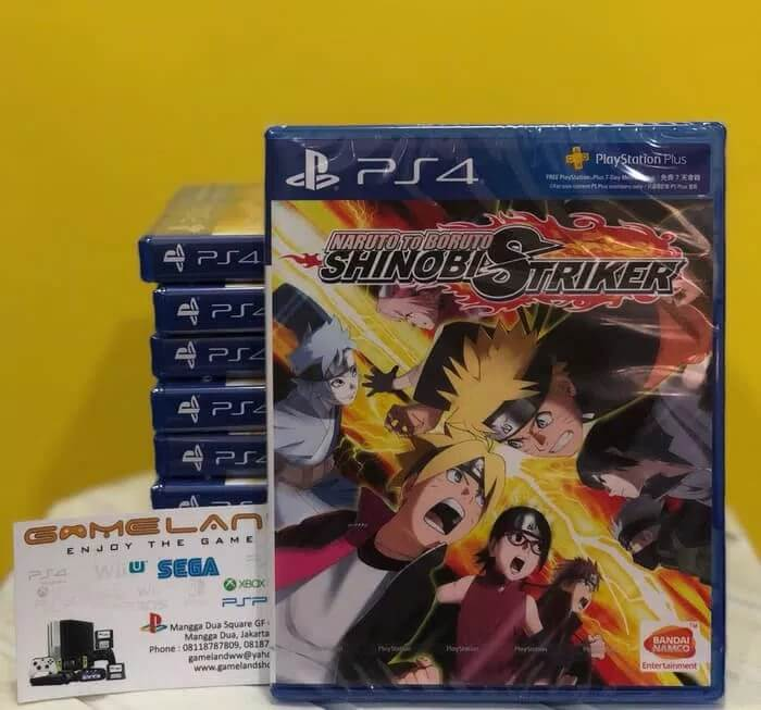 Naruto To Boruto Shinobi Striker Reg 3 PS4