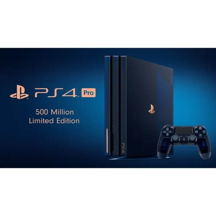 Play Station 4 Pro 500 Million Limited Edition Console