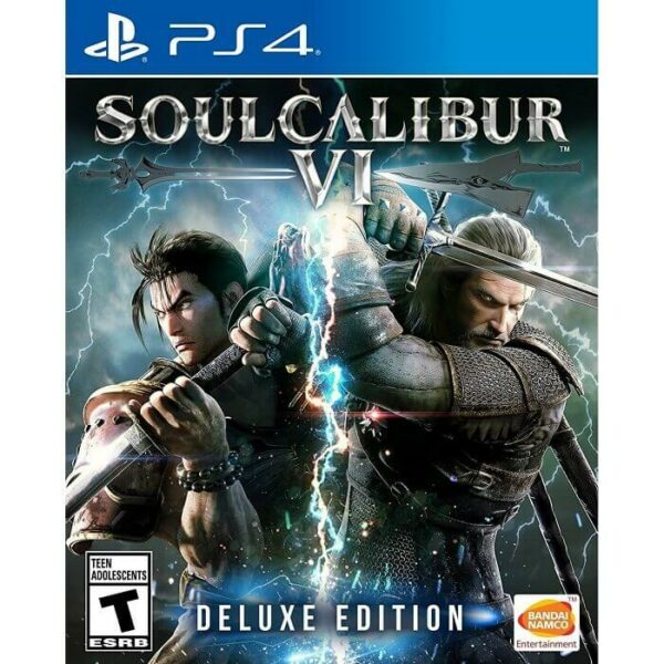 Soul Calibur VI Deluxe Edition PS4