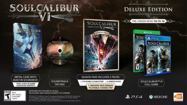 Soul Calibur VI Deluxe Edition PS4 gallery