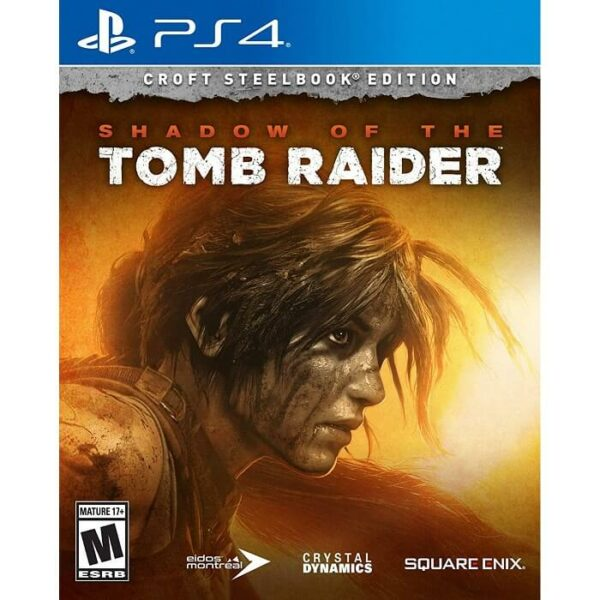 The Shadow Tomb Raider Croft Steelbook Edition Reg 3 PS4
