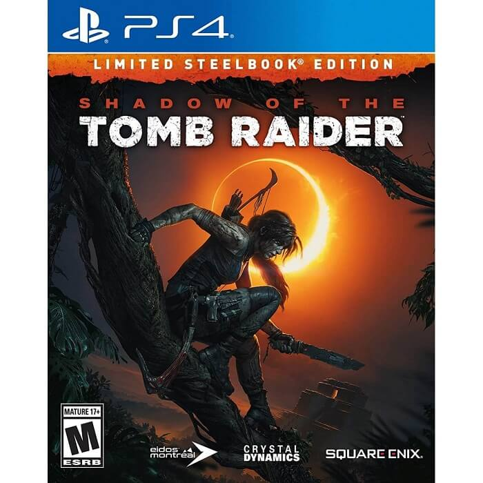 The Shadow Tomb Raider Limited Steelbook Edition Reg 3 PS4