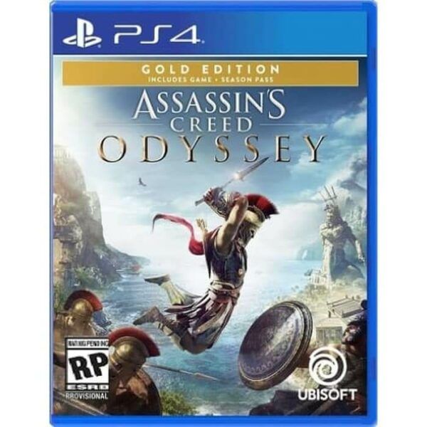 Assassins Creed Odyssey Gold Edition Reg 3 PS4