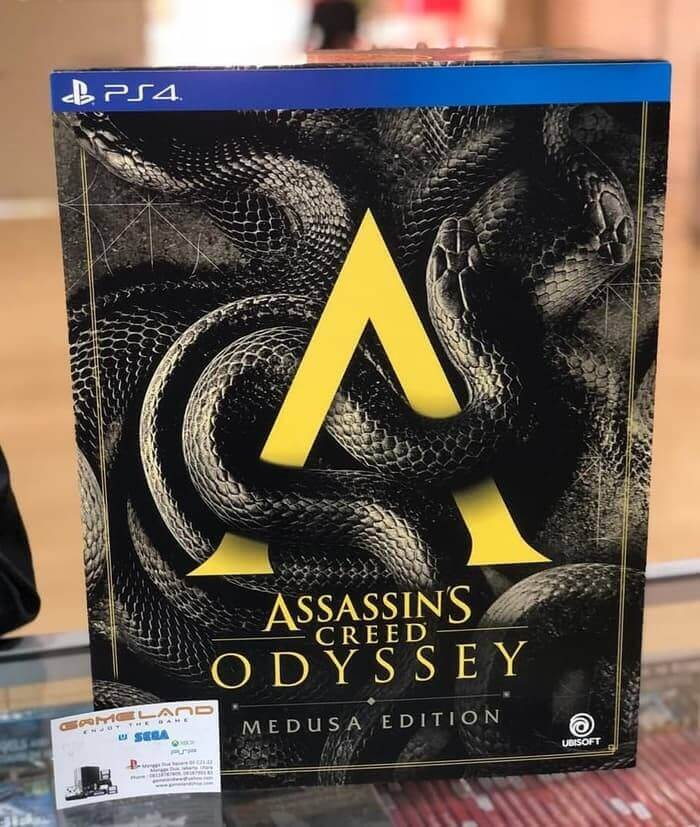 Assassins Creed Odyssey Medusa Edition Reg 3 PS4