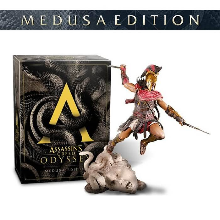 Assassins Creed Odyssey Medusa Edition Reg 3 Ps4 Gameland
