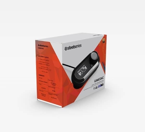 Steelseries Game DAC Certified Hi Res DAC and AMP for Gaming